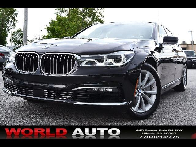 2016 BMW 7-Series 750i xDrive