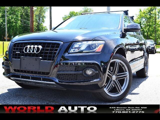 2012 Audi Q5 quattro 4dr 3.2L Premium Plus
