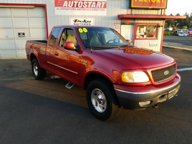 2000 Ford F-150 Lariat SuperCab Long Bed 4WD! OFF ROAD PKG!