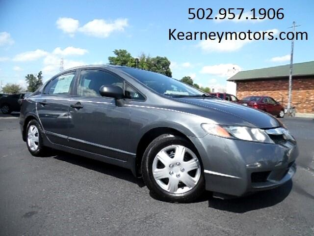 2011 Honda Civic DX-VP Sedan 5-Speed AT