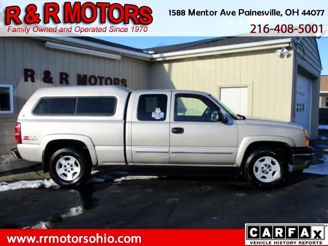 2005 Chevrolet Silverado 1500 LS Ext. Cab Short Bed 4WD