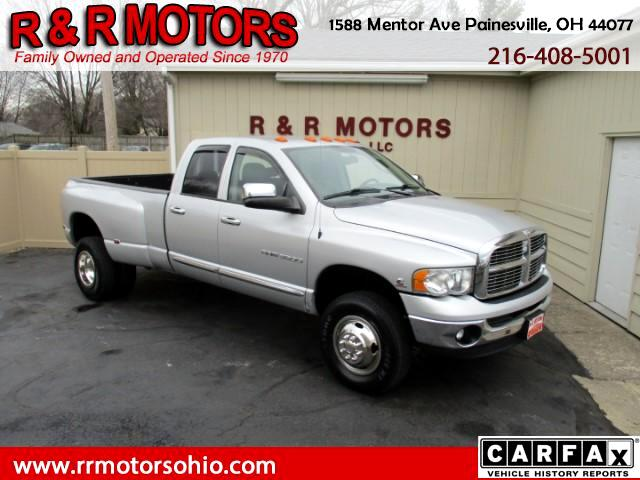2005 Dodge Ram 3500 Laramie Quad Cab Long Bed 4WD DRW