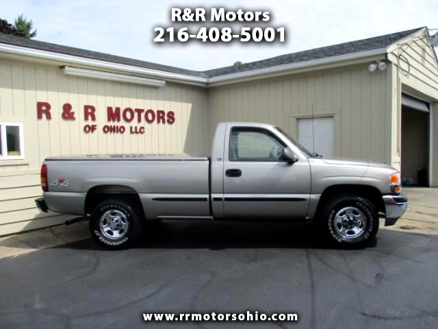 2001 GMC Sierra 1500 SL Short Bed 4WD