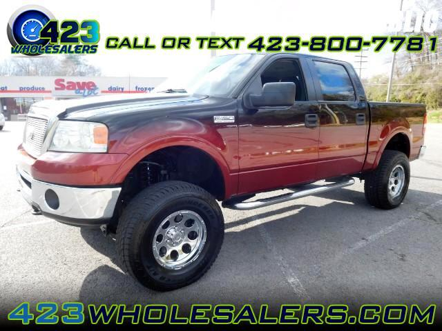"""2006 Ford F-150 4WD SuperCab 133"""" Lariat"""
