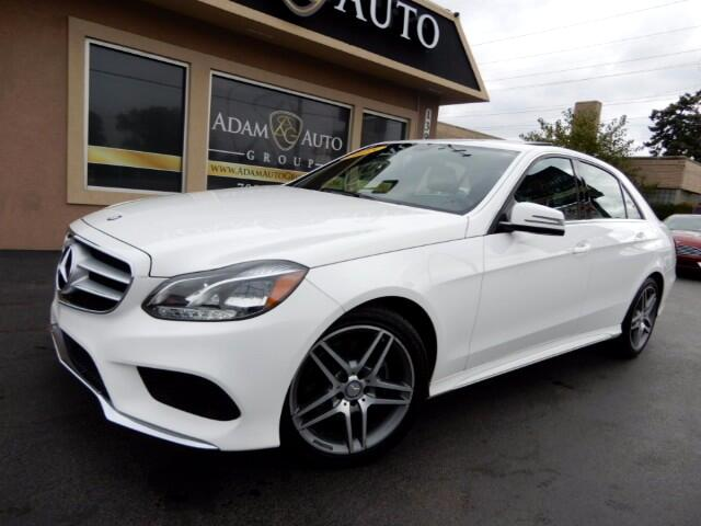 2015 Mercedes-Benz E-Class E350 Sedan 4MATIC