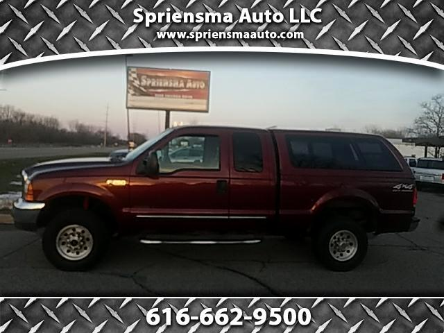 2000 Ford F-250 SD XLT SuperCab 4WD