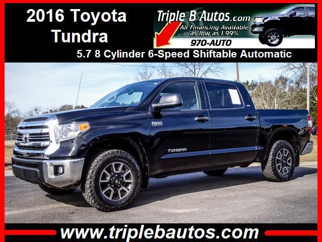 2016 Toyota Tundra SR5 5.7L V8 FFV CrewMax 4WD