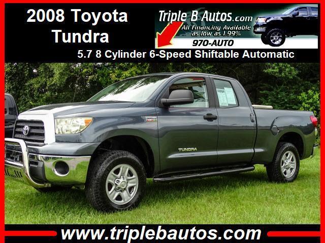 2008 Toyota Tundra SR5 Double Cab 5.7L 4WD
