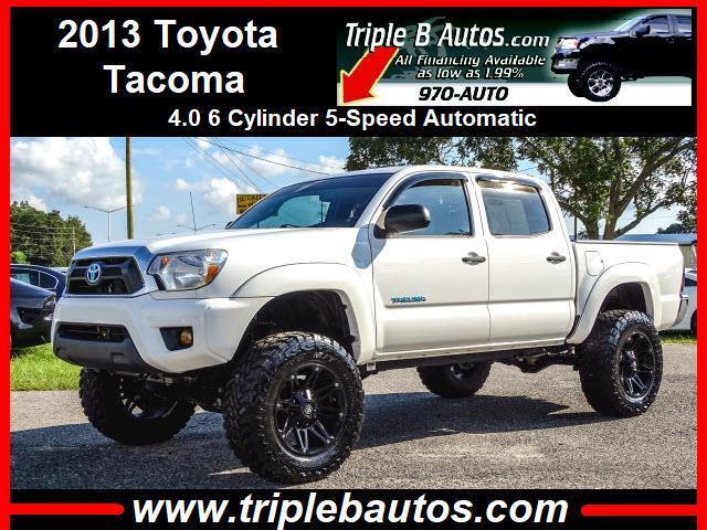 2013 Toyota Tacoma Double Cab V6 4WD