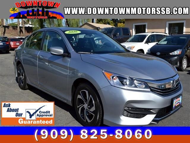 2016 Honda Accord LX Sedan CVT