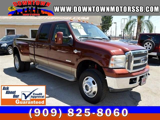 2007 Ford F-350 SD KING RANCH 4DR CREW CAB  4WD DIESEL