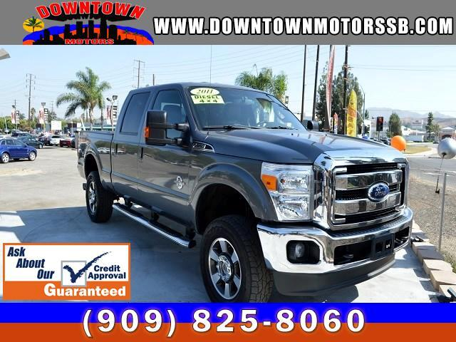 2011 Ford F-350 SD Lariat Crew Cab 4X4 4WD DIESEL
