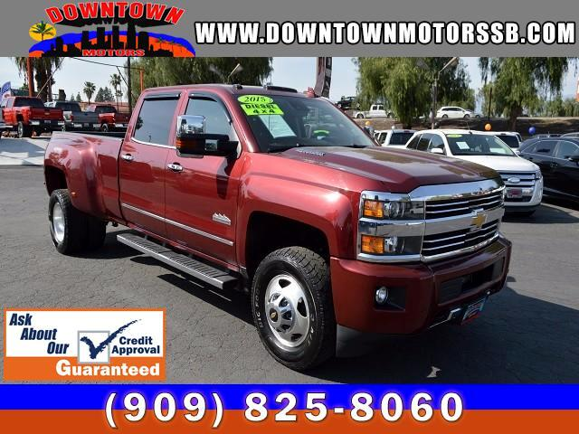 2015 Chevrolet Silverado 3500HD HIGH COUNTRY 4WD CREW CAB