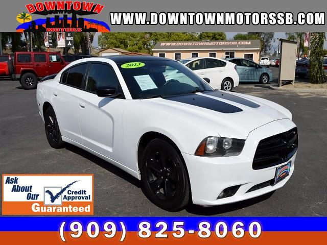 2013 Dodge Charger SX PLUS
