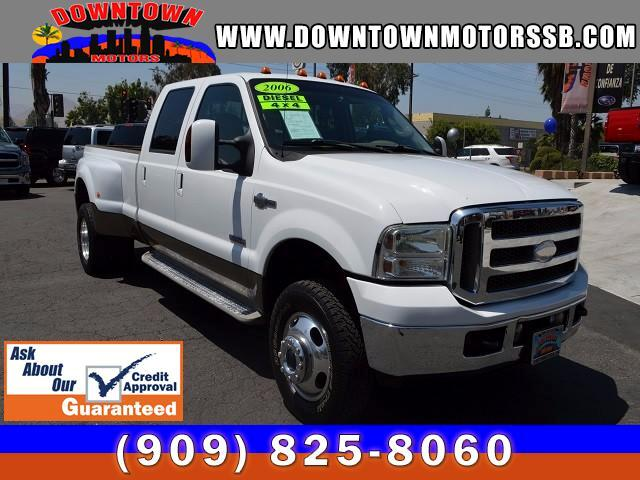 2006 Ford F-350 SD KING RANCH 4DR CREW CAB 4WD