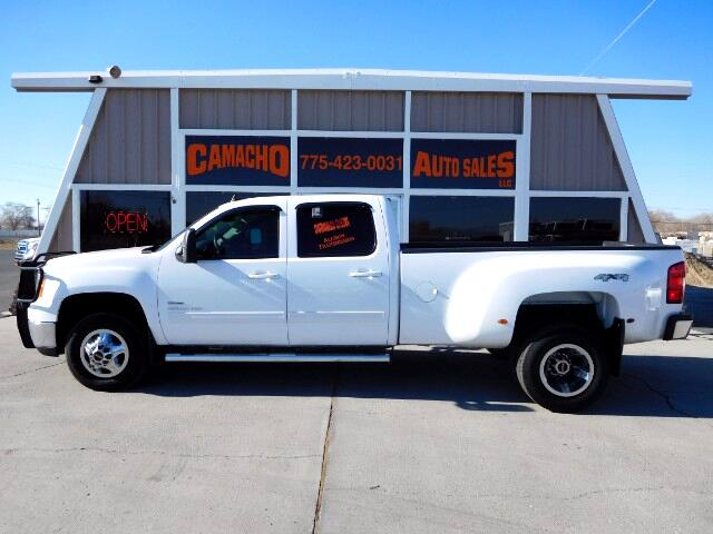 2010 GMC Sierra 3500HD SLT Crew Cab DRW 4WD