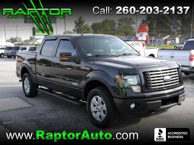 "2011 Ford F-150 4WD SuperCab 133"" FX4"
