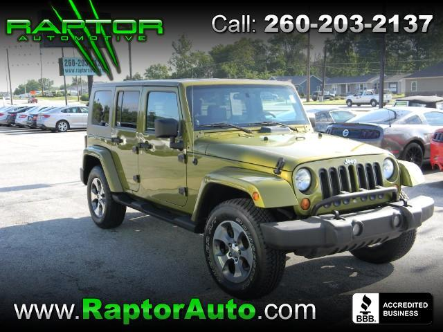 2007 Jeep Wrangler Unlimited Sport 4WD