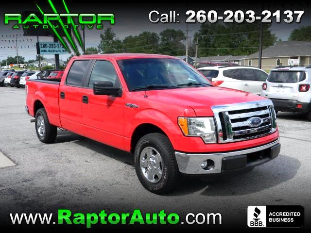 "2011 Ford F-150 2WD SuperCrew 139"" XLT"