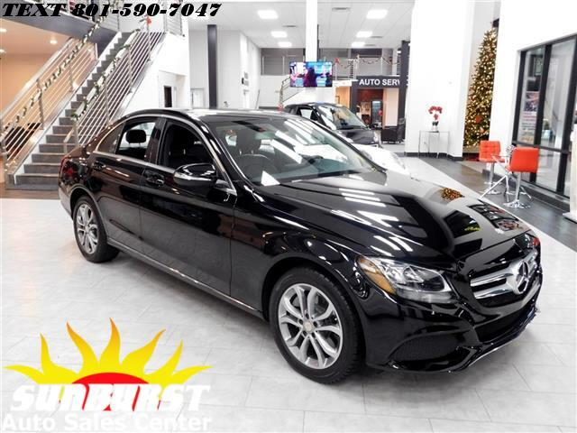 2015 Mercedes-Benz C300 4 MATIC