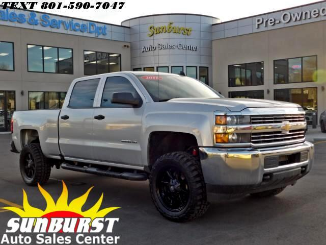 2016 Chevrolet Silverado 2500HD K2500 HEAVY DUTY