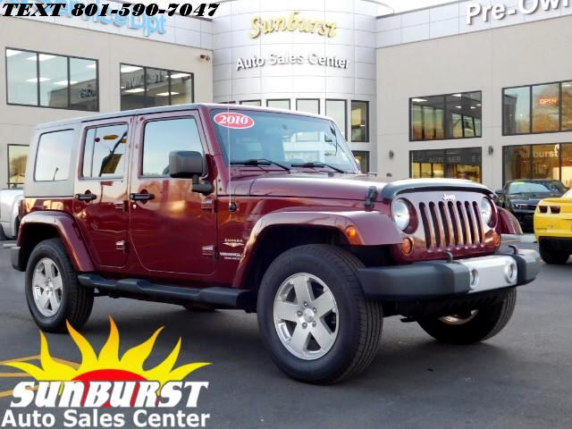 2010 Jeep Wrangler UNLIMITED SAHARA 3.8L