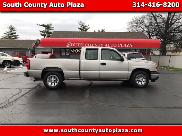 2006 Chevrolet Silverado 1500 Work Truck Ext. Cab Long Bed