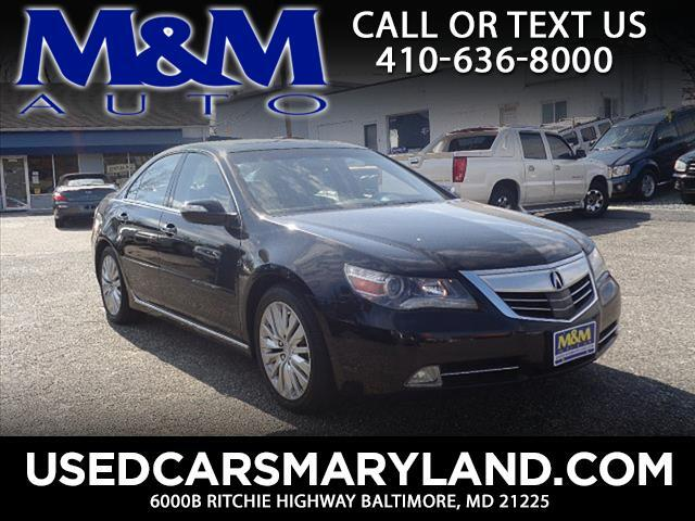 2011 Acura RL SH-AWD w/Tech