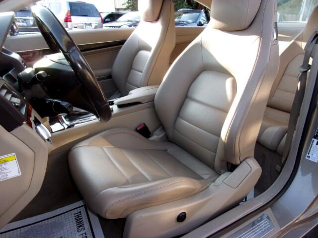 2010 Mercedes-Benz E-Class E350 Coupe