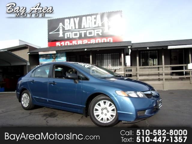 2010 Honda Civic DX-VP Sedan 5-Speed AT