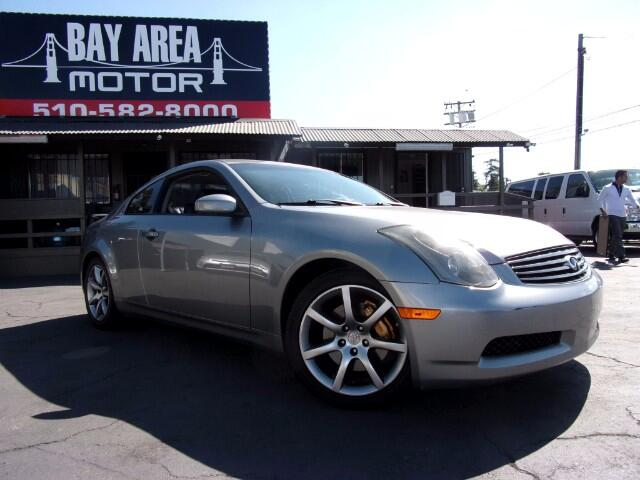 2004 Infiniti G35 Coupe with Leather and 6MT