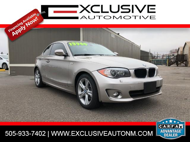 2012 BMW 1-Series 128i Coupe
