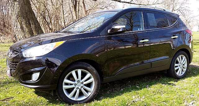 2010 Hyundai Tucson GLS 2WD