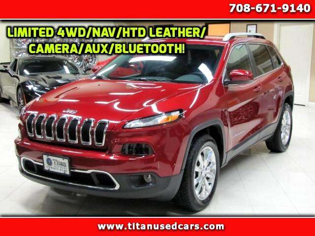 2017 Jeep Cherokee Limited 4WD