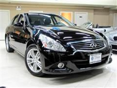 2010 Infiniti G37X With Navigation