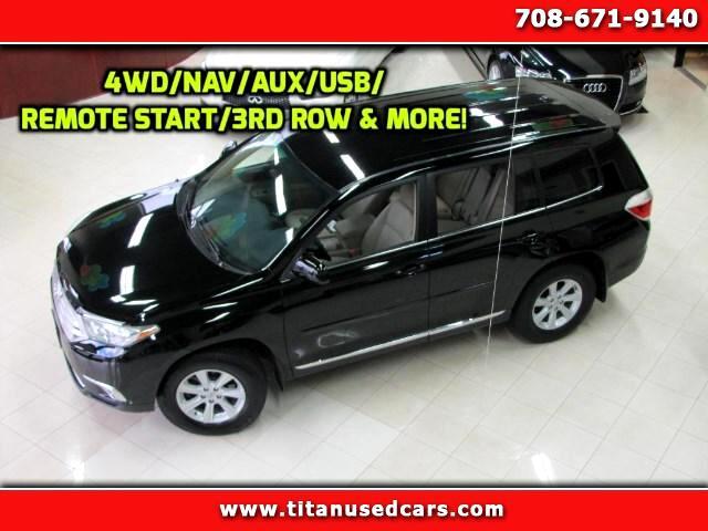 2012 Toyota Highlander Limited AWD V6