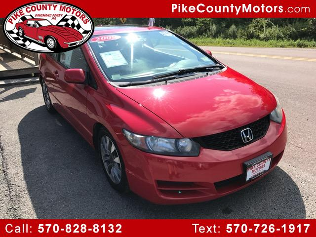 2009 Honda Civic EX-L Coupe 5-Speed AT