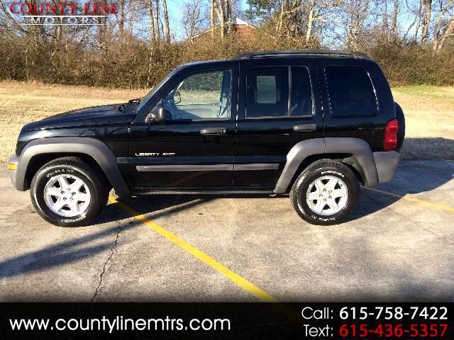 2003 Jeep Liberty Sport 2WD