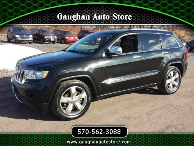 2011 Jeep Grand Cherokee OVERLAND 4WD NAV,VISTA ROOF,CAMERA,HEATED LEATHER