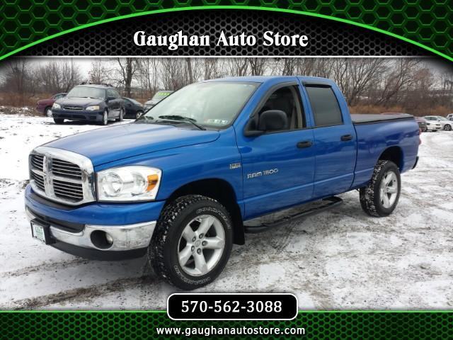 2007 Dodge Ram 1500 Quad Cab Short Bed 4WD