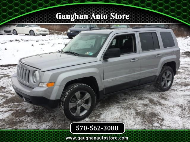 2015 Jeep Patriot HIGH ALTITUDE 4WD MOONROOF HEATED LEATHER