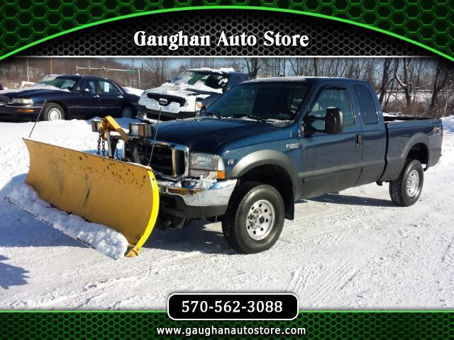 2002 Ford F-250 SD XL SUPER CAB 4X4 WITH FISHER PLOW