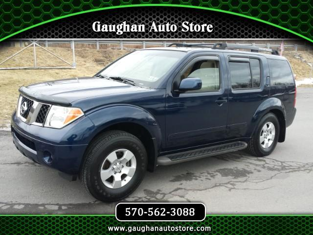 2006 Nissan Pathfinder LE 4WD THIRD ROW/ REAR ENT. /MOONROOF