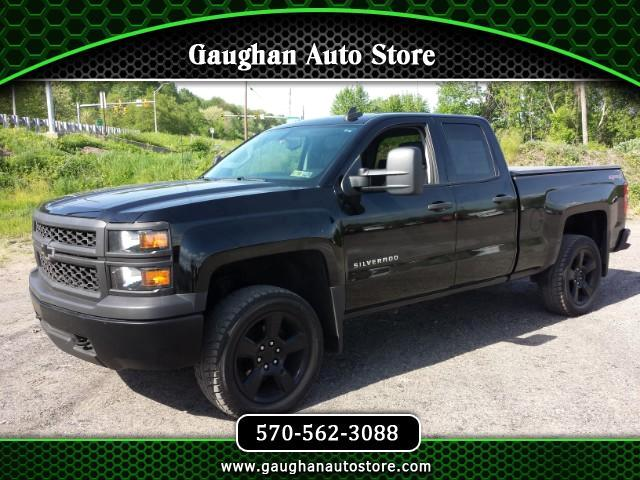 "2015 Chevrolet Silverado 1500 DOUBLE CAB 4WD ( 20"" WHEELS --LOTS OF XTRAS"""