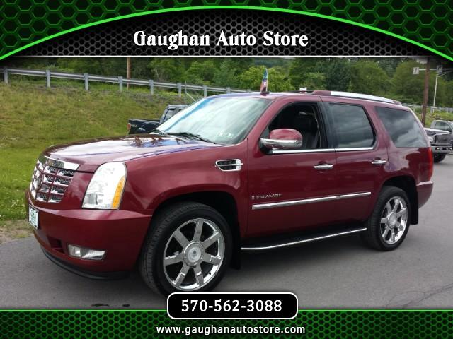2007 Cadillac Escalade AWD  NAVIGATION,THIRD ROW ,HEATED LEATHER SEATS