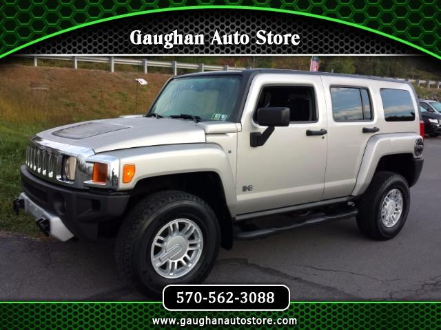 2008 HUMMER H3 4WD SUV MOONROOF