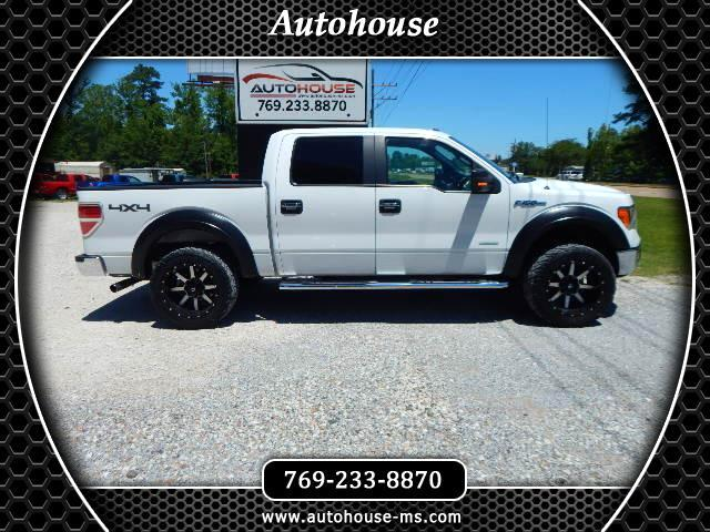 "2011 Ford F-150 4WD SuperCab 133"" XLT"