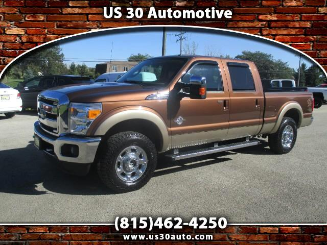 2012 Ford F-250 Lariat Crew Cab Short Bed 4WD