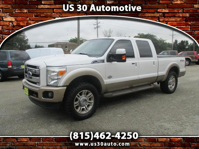 2011 Ford F-250 King Ranch Crew Cab Short Bed 4WD