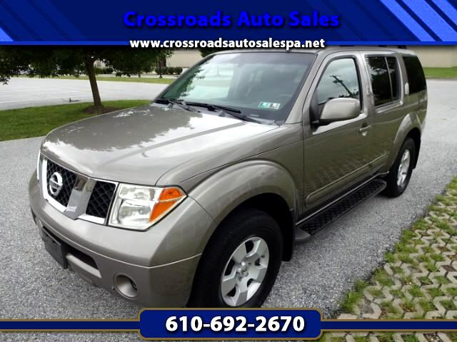 2005 Nissan Pathfinder XE 4WD
